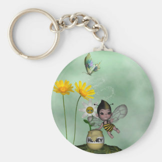 Cute Adorable Baby Bumble Bee Honey Key Chains