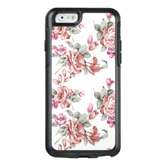 Cute Adorable Modern Blooming Flowers OtterBox iPhone 6/6s Case