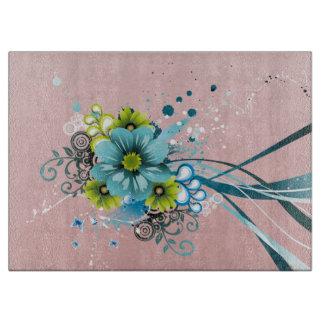 Cute Adorable Modern  Flowers Cutting Board
