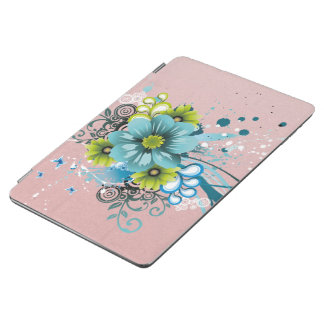 Cute Adorable Modern  Flowers iPad Air Cover