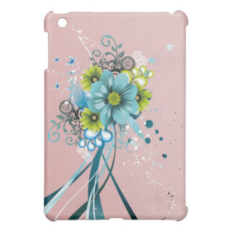 Cute Adorable Modern  Flowers iPad Mini Cases