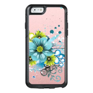 Cute Adorable Modern  Flowers OtterBox iPhone 6/6s Case