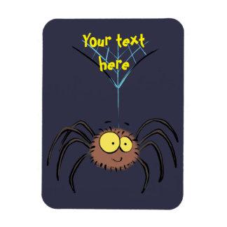 Cute, adorable spider cartoon magnet