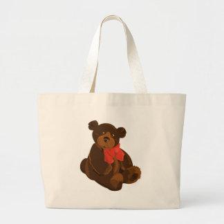 CUTE ADORABLE TEDDY BEAR CANVAS BAG