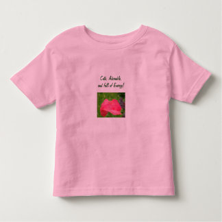 Cute Adorable Toddler T-shirts Full of Energy