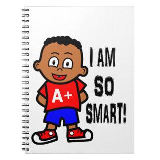 Cute African American Karate Boy Journal