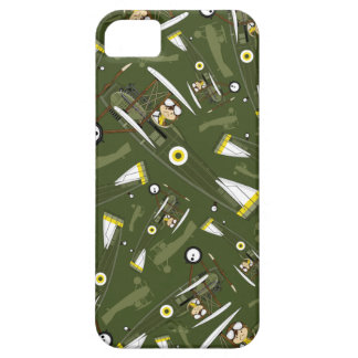 Cute Airforce Pilot and Biplane Case For The iPhone 5