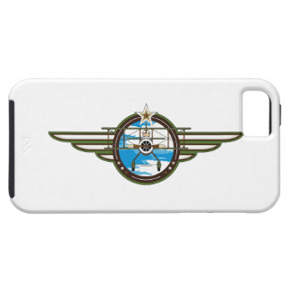 Cute Airforce Pilot and Biplane iPhone 5 Covers