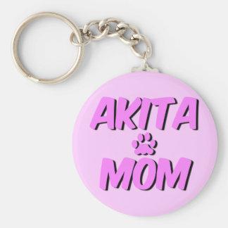 Cute Akita Key Ring