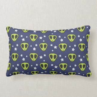 Cute Alien Throw Pillow