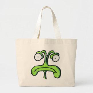 Cute Alien Tote Bags