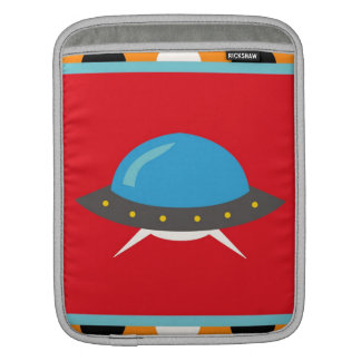 Cute Alien UFO Space Ship Unique Kids Gifts Sleeves For iPads