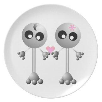 Cute Aliens Plate