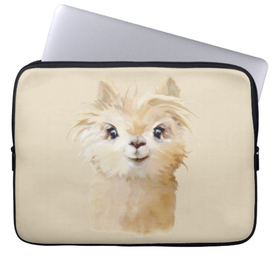 Cute Alpaca Laptop Sleeve