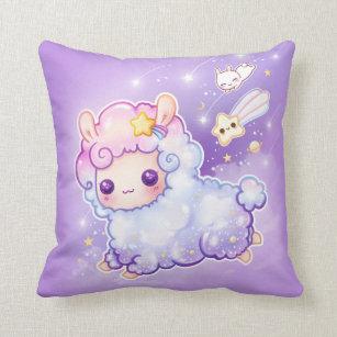 Kawaii Cushions Decorative Amp Throw Cushions Zazzle Uk