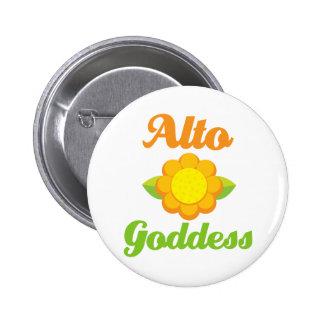 Cute Alto Goddess Button