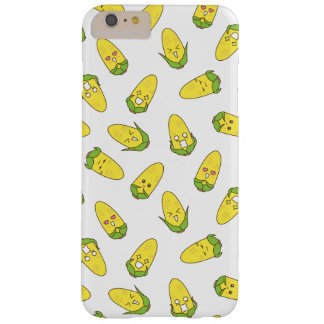 Cute Amusing Corn Expressions Pattern Barely There iPhone 6 Plus Case