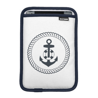 Cute Anchor iPad Mini Sleeve