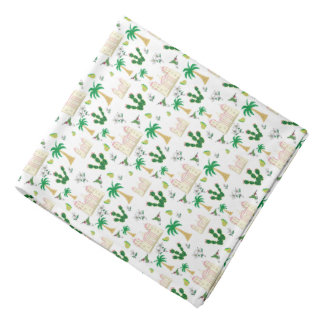 Cute and Adorable Southern California Pattern Do-rag
