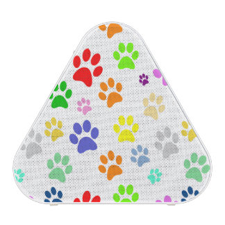 Cute and Beautiful Colorful Pet Paw Pattern
