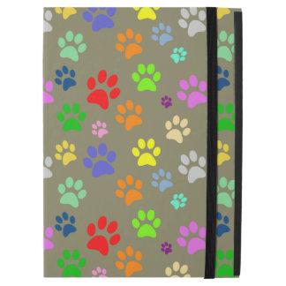 "Cute and Beautiful Colorful Pet Paw Pattern iPad Pro 12.9"" Case"