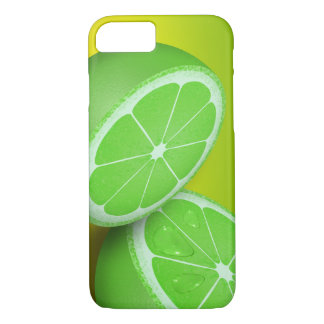 Cute and Beautiful Green Lime Summer image iPhone 7 Case