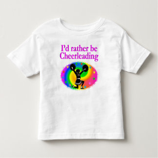 CUTE AND COLORFUL CHEERLEADING DESIGN SHIRTS