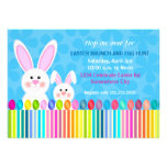 Cute and Colourful Easter Bunny Invitation