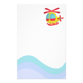 Cute and Colourful Helicopter for Kids Customized Stationery