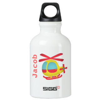 Cute and Colourful Helicopter for Kids SIGG Traveller 0.3L Water Bottle