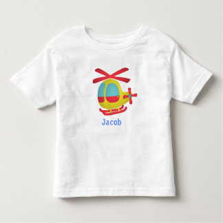 Cute and Colourful Helicopter for Kids Toddler T-Shirt