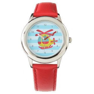 Cute and Colourful Helicopter for Kids Watches
