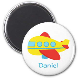 Cute and Colourful Passenger Aeroplane Magnet