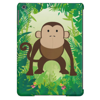 Cute and Crazy Monkey Cover For iPad Air