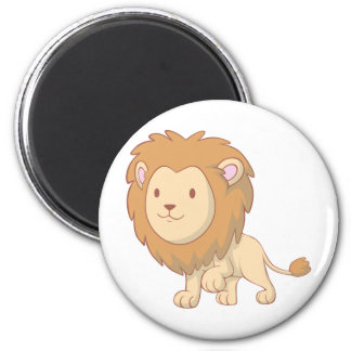 Cute and Cuddly Baby Lion Fridge Magnets
