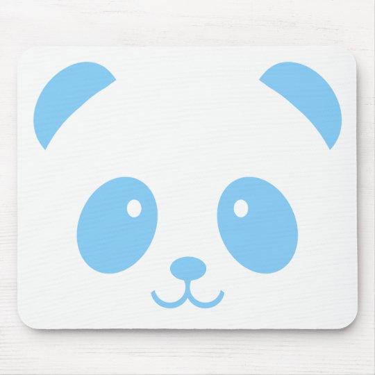 Cute and Cuddly Blue Panda Mousepad