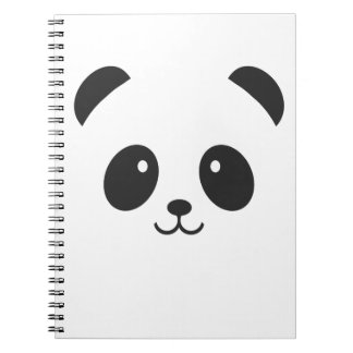 Cute and Cuddly Panda Notebook