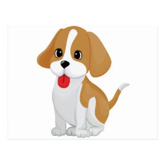 Cute and Cuddly Puppy Postcard
