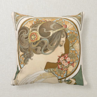 Cute and decorative floral throw pillow