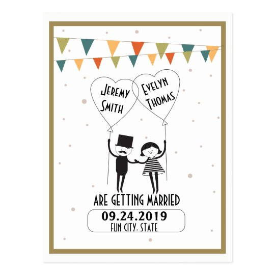 Cute and Funny Alternative Wedding Save the Date