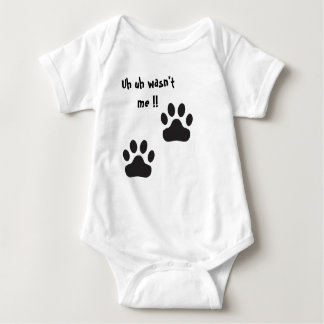 Cute and funny baby grow baby bodysuit