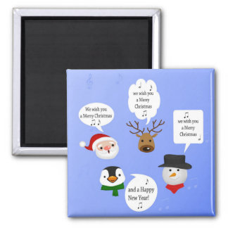Cute and Funny Christmas - Magnet