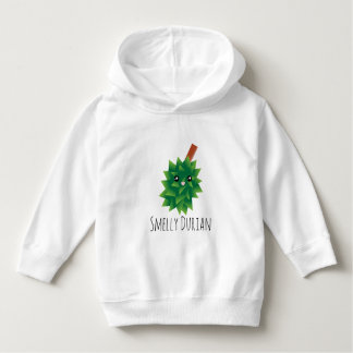 Cute And Funny Smelly Durian Manga Cartoon Hoodie