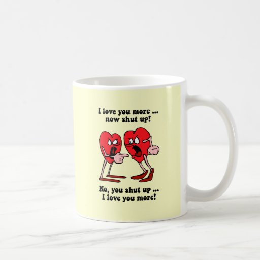 Cute and funny Valentine's Day Coffee Mugs