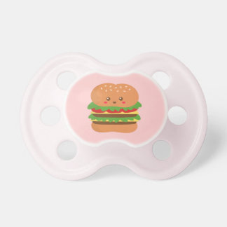 Cute and happy big burger, for fast food lovers dummy