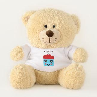 Cute and happy Cupcake 1.3 Teddy Bear