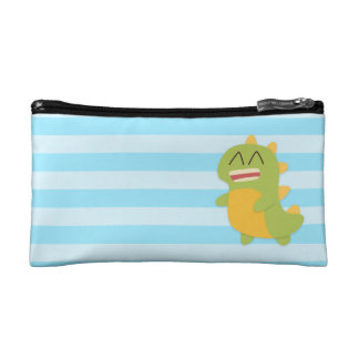 Cute and happy Dinosaur for Kids Makeup Bags