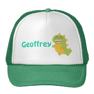 Cute and happy Dinosaur for Kids Hats