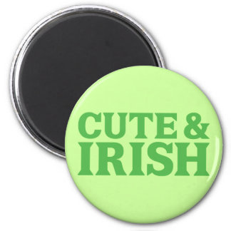 Cute and Irish Magnet