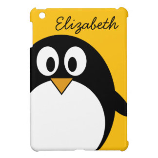 Cute and Modern Cartoon Penguin iPad Mini Case